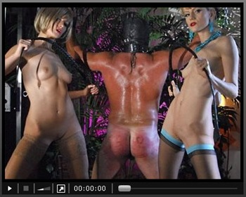 dom karin and her mean friend videos of pillory